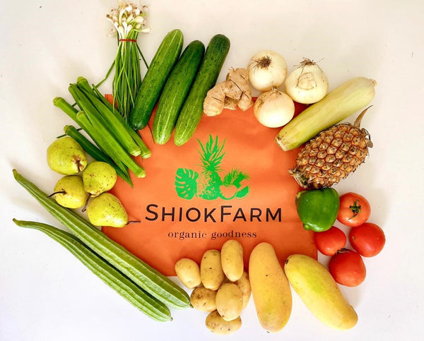 ShiokFarm Indian Cuisine Organic Bag