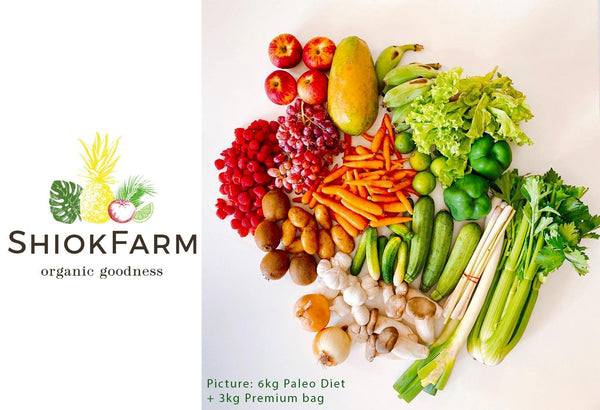 ShiokFarm organic Paleo Diet bag and premium bag