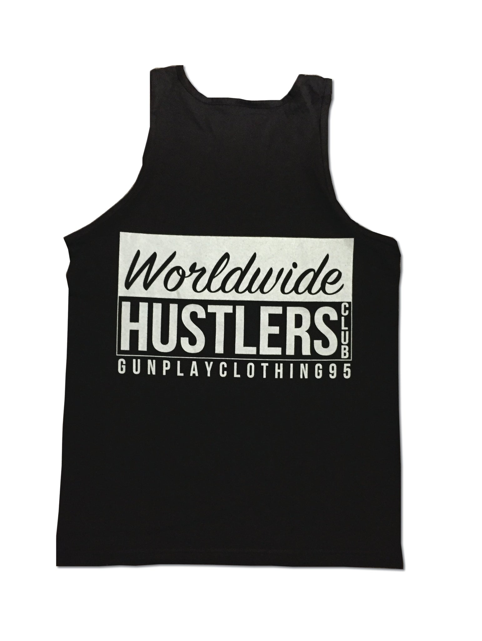 WorldWide Hustler Tank Black