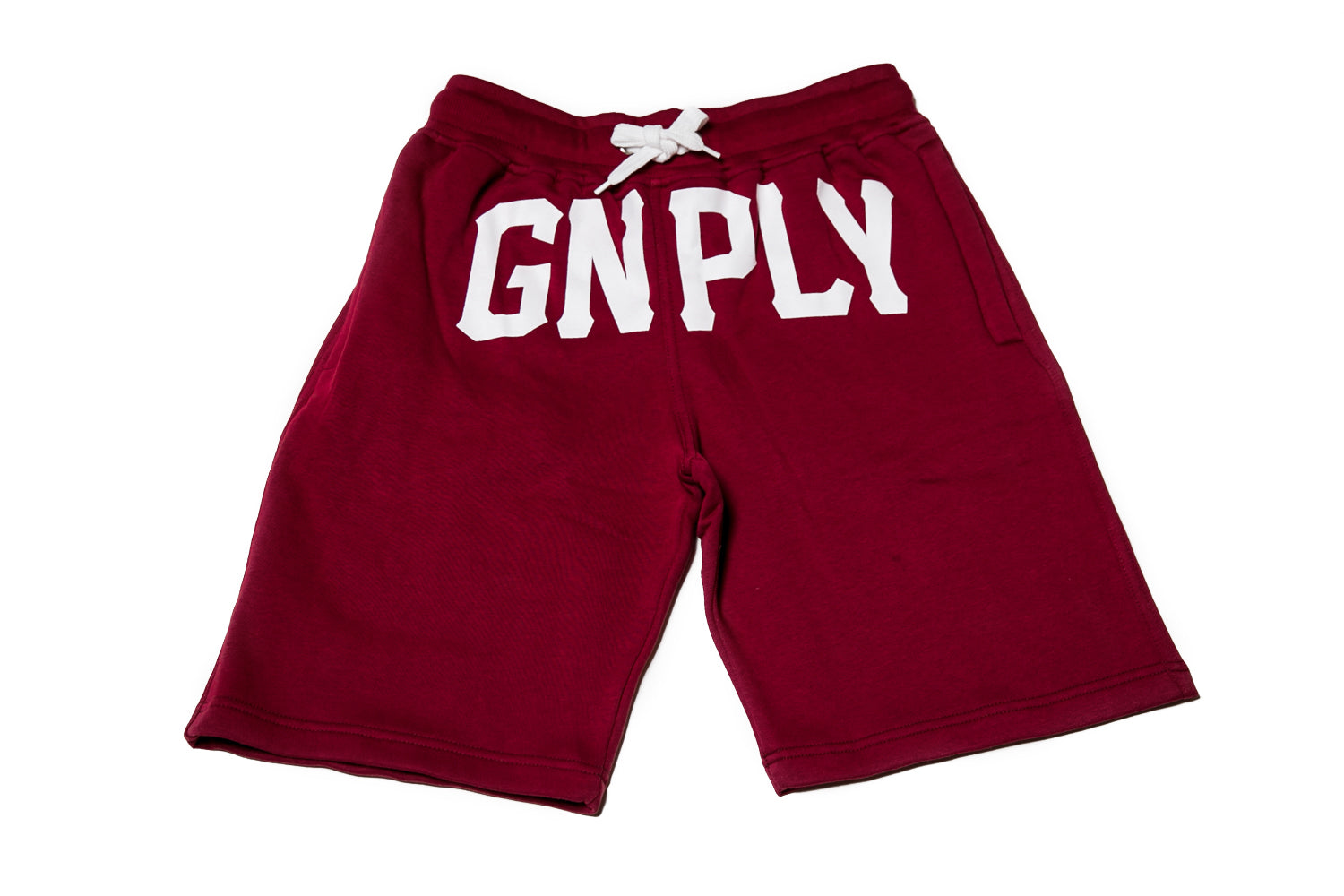 GNPLY Sweat Shorts - Maroon