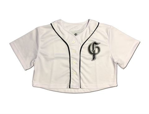 Original Crop Baseball Jersey - White