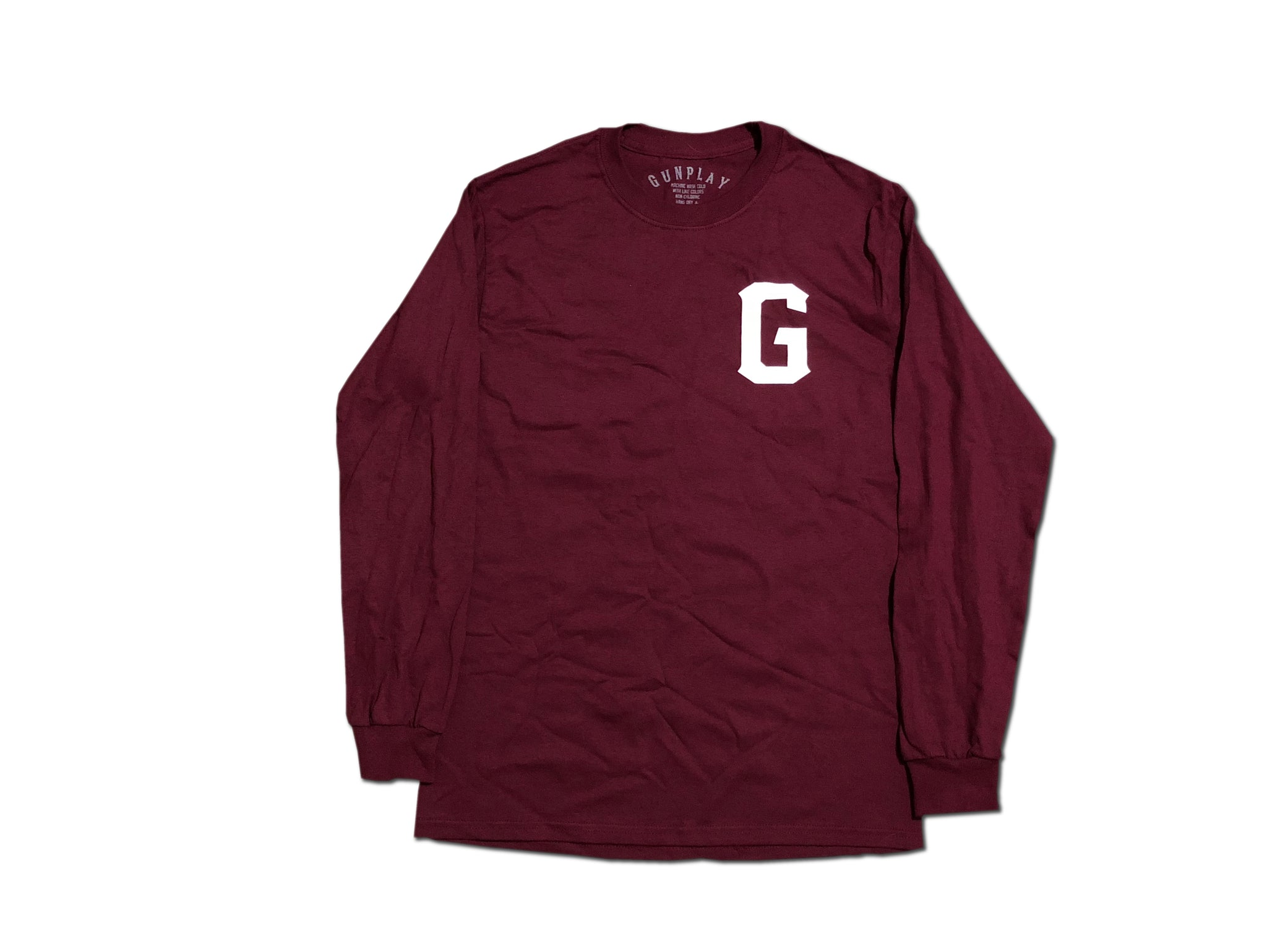 Trappers Only Long Sleeve - Burgundy