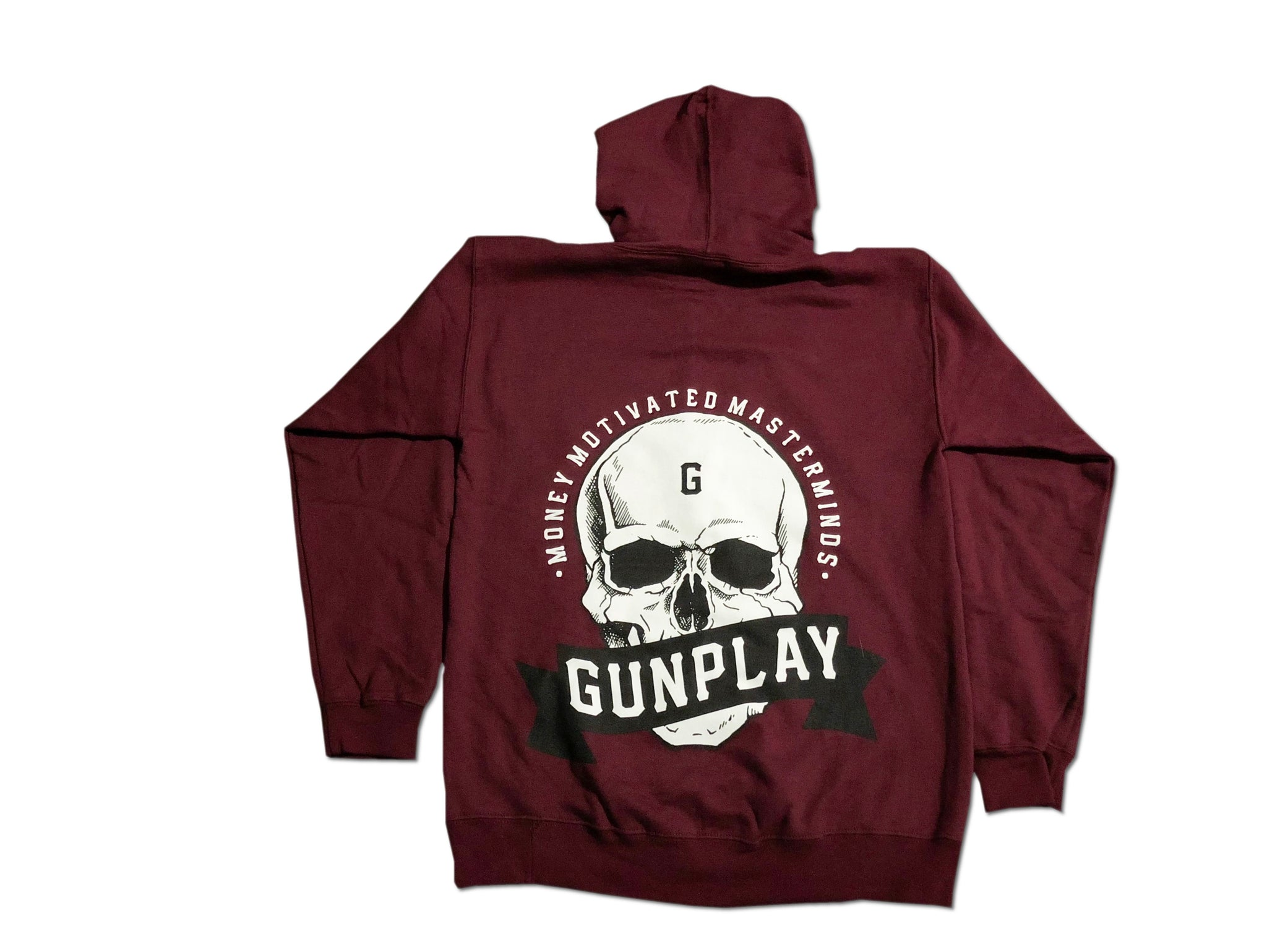 Money Motivated Masterminds Hoodie - Burgundy