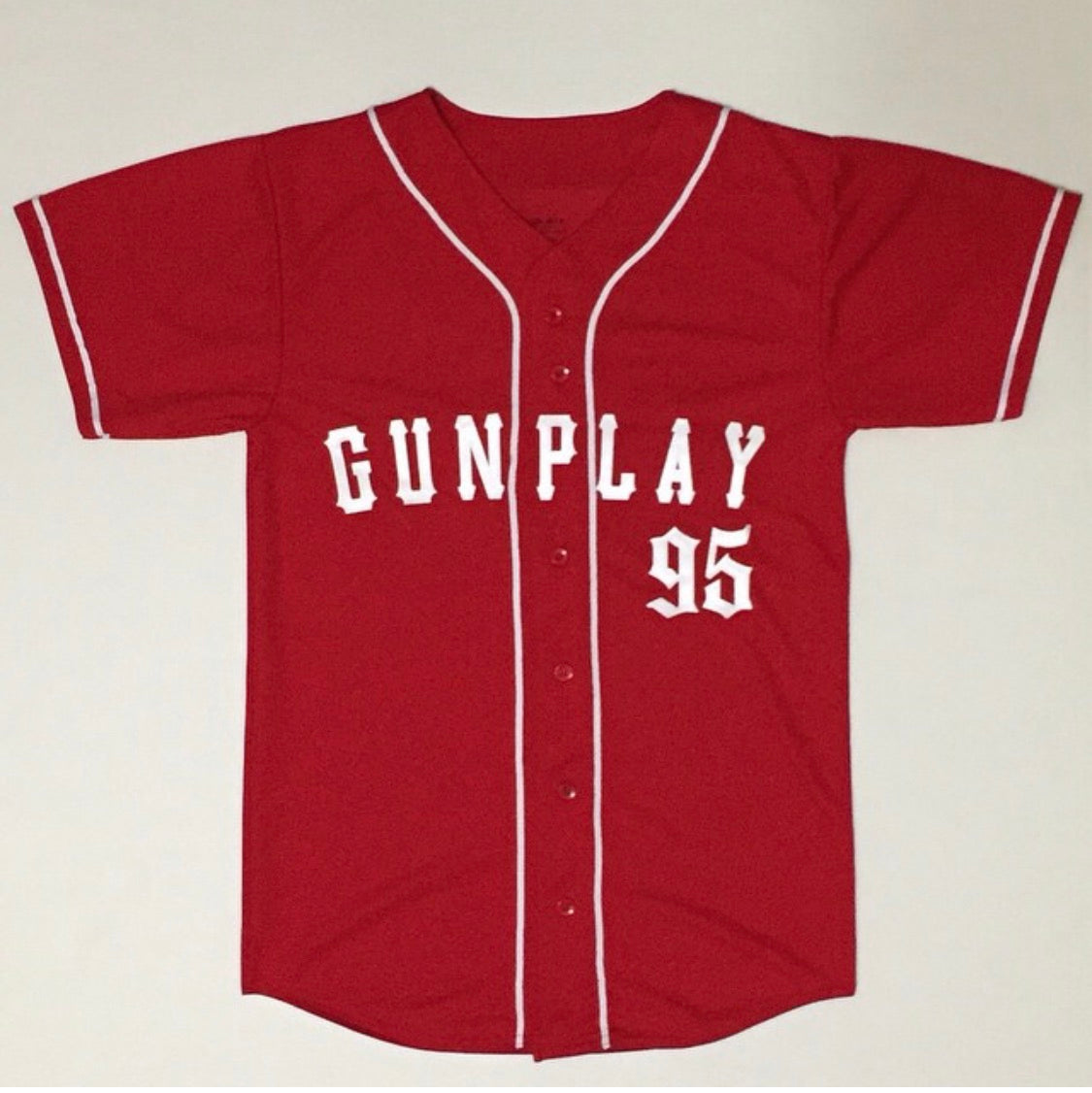 Original Gunplay Jersey - Red