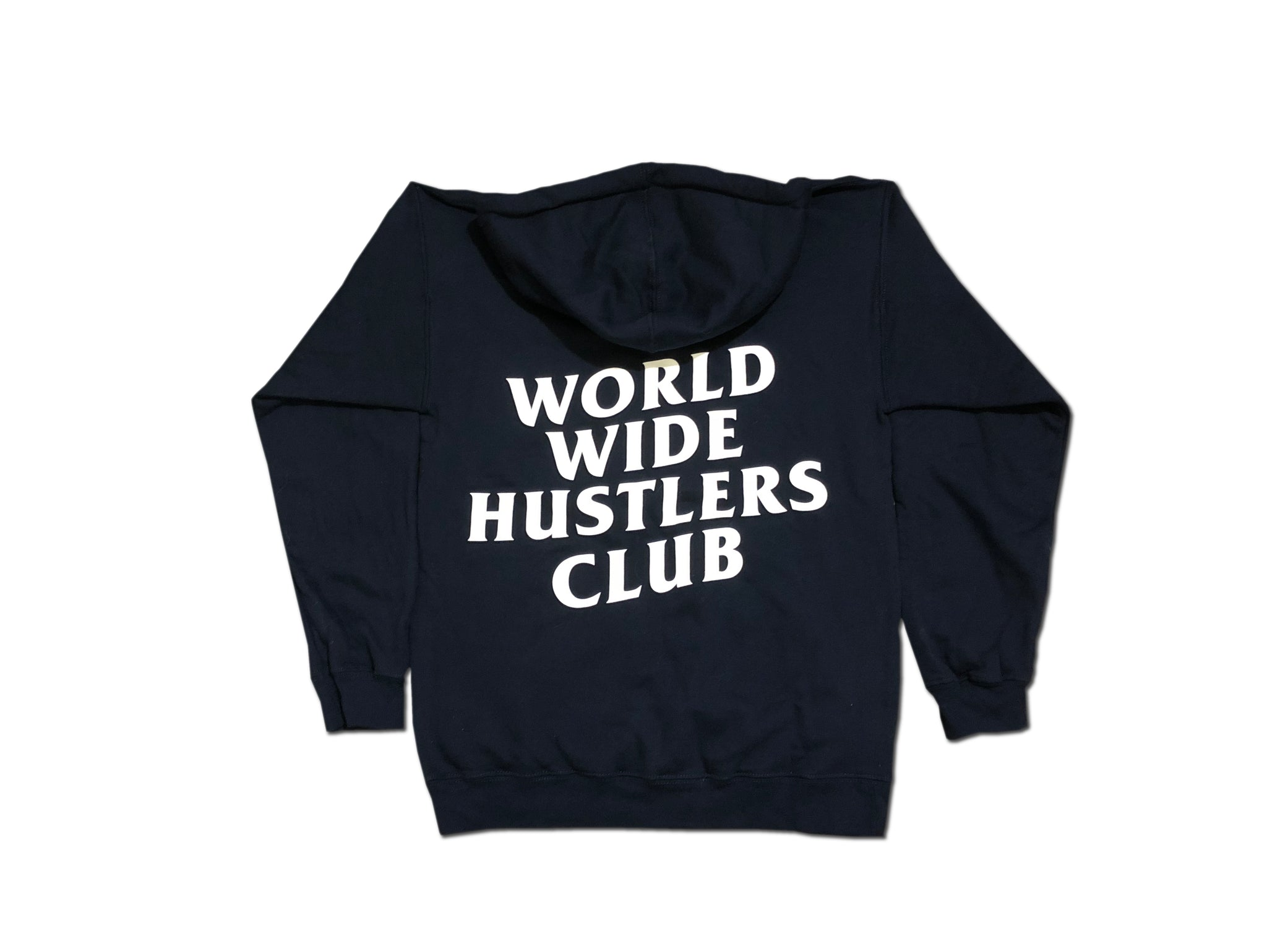 Worldwide Hustlers Club Hoodie - Navy