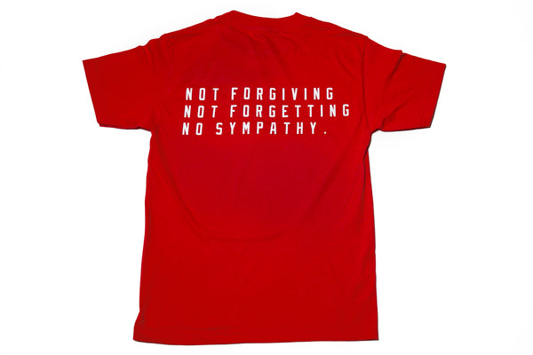 Not Forgiving - Red