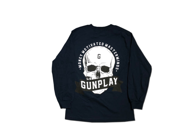 Money Motivated Masterminds Long Sleeve - Navy