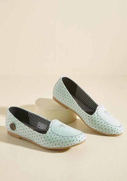 Loly in the Sky Flats But Not Least Loafer Mint Size 81/2 US