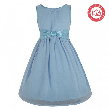 Mini Candy' Ice Blue Party Dress size 9 to 10 yrs
