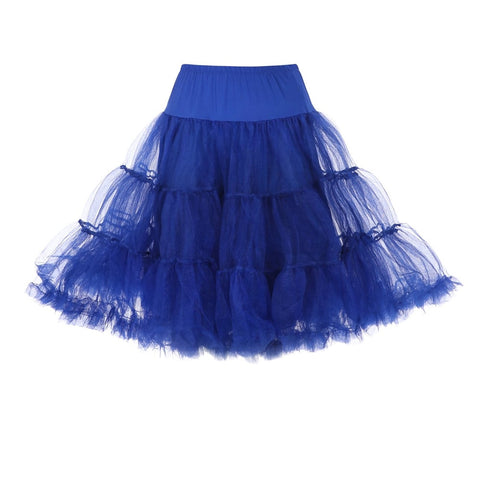 "24"" Royal Blue Petticoat"
