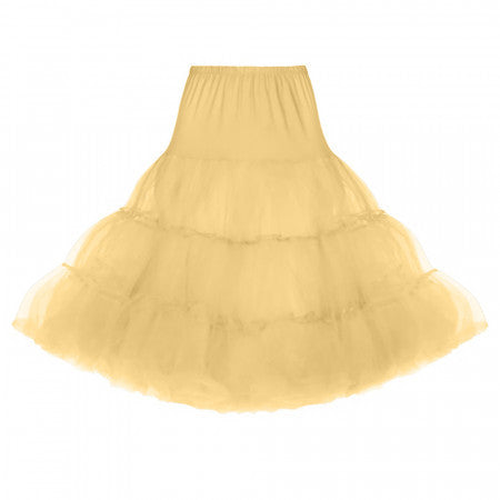 Canary Yellow Net Petticoat 28""