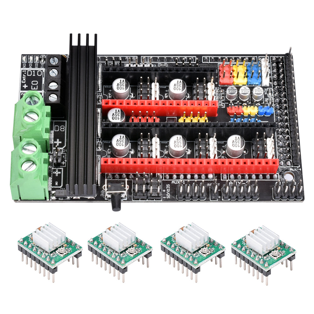 BIGTREETECH Ramps 1.6 Plus Control Board 4-layer PCB on