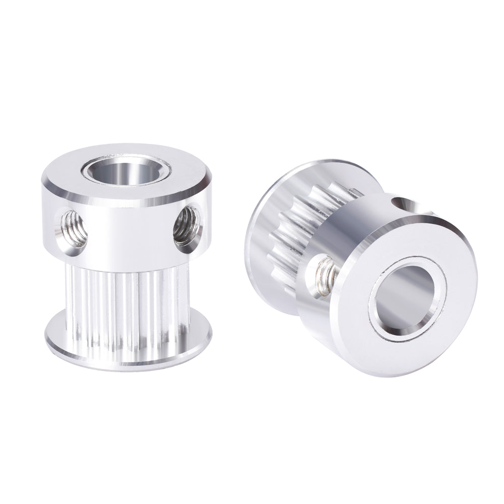 3mm Bore Smooth Idler Pulley With Bearing For 6mm Width GT2 MXL T2.5 3D Printer