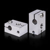 BIQU V6    Heater Block  aluminum PT100 3D Printer Parts For E3D V6 Hotend J-head BMG Extruder Titan