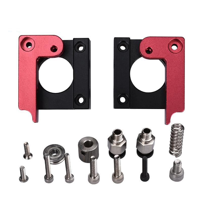 1PCS 3D printer accessories MK8 all-metal remote extruder MK8 extruder aluminum block DIY  FOR 3D printer parts - Biqu.Store