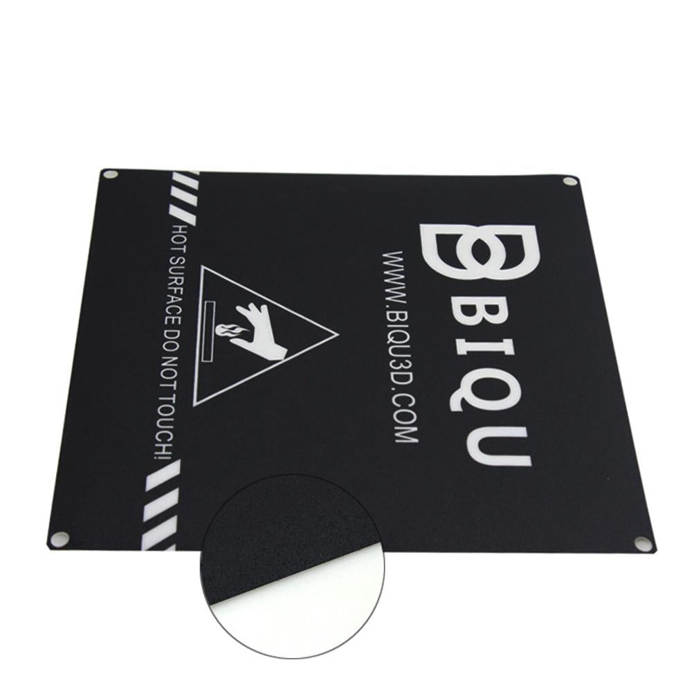 BIQU 3D Printer Heatbed Sticker Black With 3M Tape 220mm*220mm