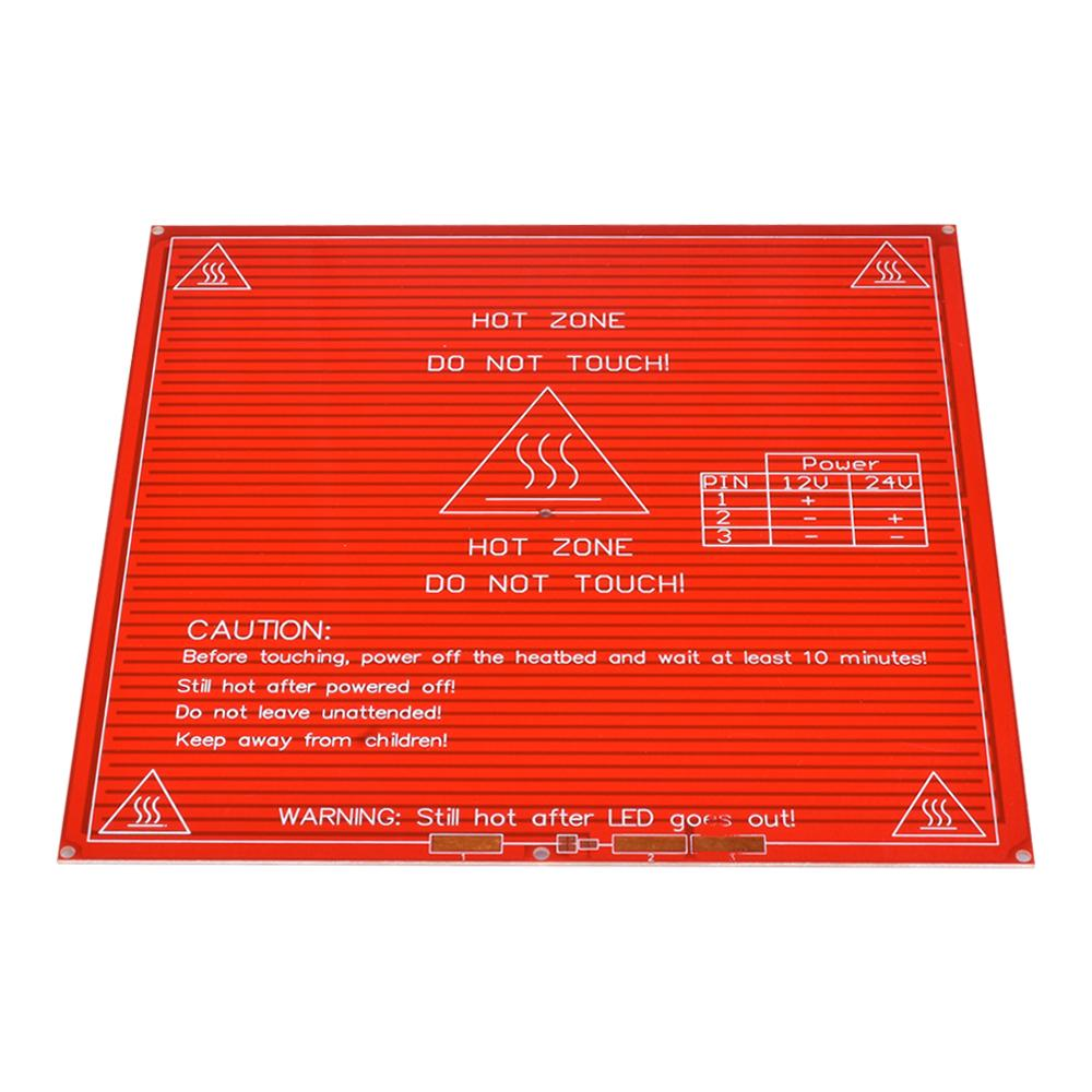 New RepRap 3D Printer PCB Heatbed MK2B 214*214*1.6MM Heated thermistor Bed Hot Plate For Prusa&Mendel thermistor bed - Biqu.Store