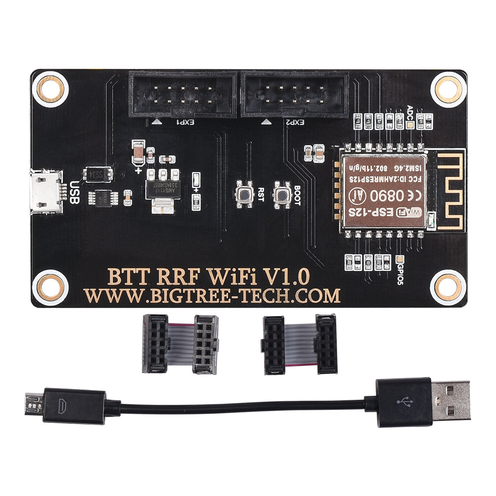 BIGTREETECH BTT RRF Wifi V1.0 Module Expansion board 3D Printer Parts RepRap Duet Firmware For SKR V1.3 SKR V1.4 Turbo