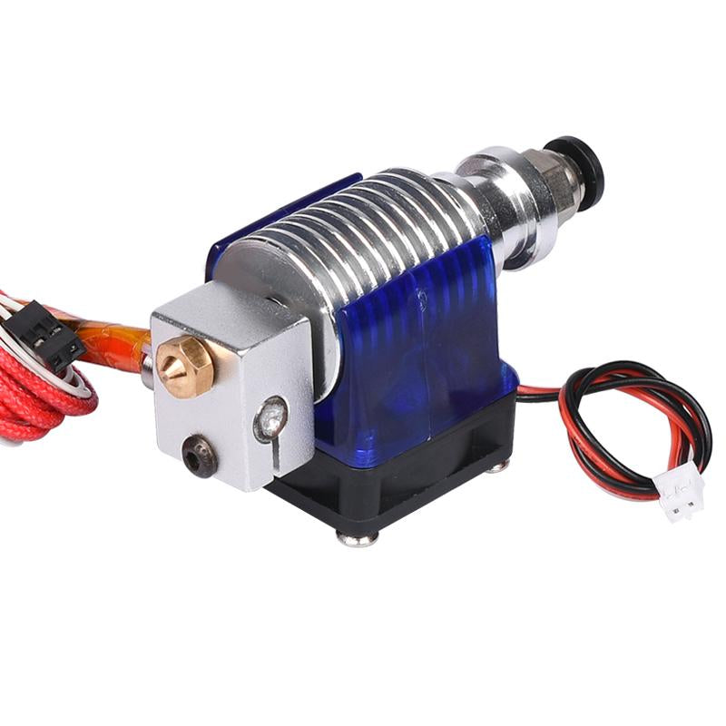 E3D V6 3D Printer J-head&Single Cooling Fan for 1.75mm/3.0mm Bowden Filament Wade Extruder 0.3/0.4/0.5mm Nozzle put in a box