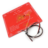3D Printer Parts MK2B 214*214*1.6MM Heated+LED+Resistor+Cabel+100K ohm Thermistors PCB Electric Heated Bed
