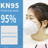 KN95 Mask anti-fog anti-poison dust-proof breathable protective mask