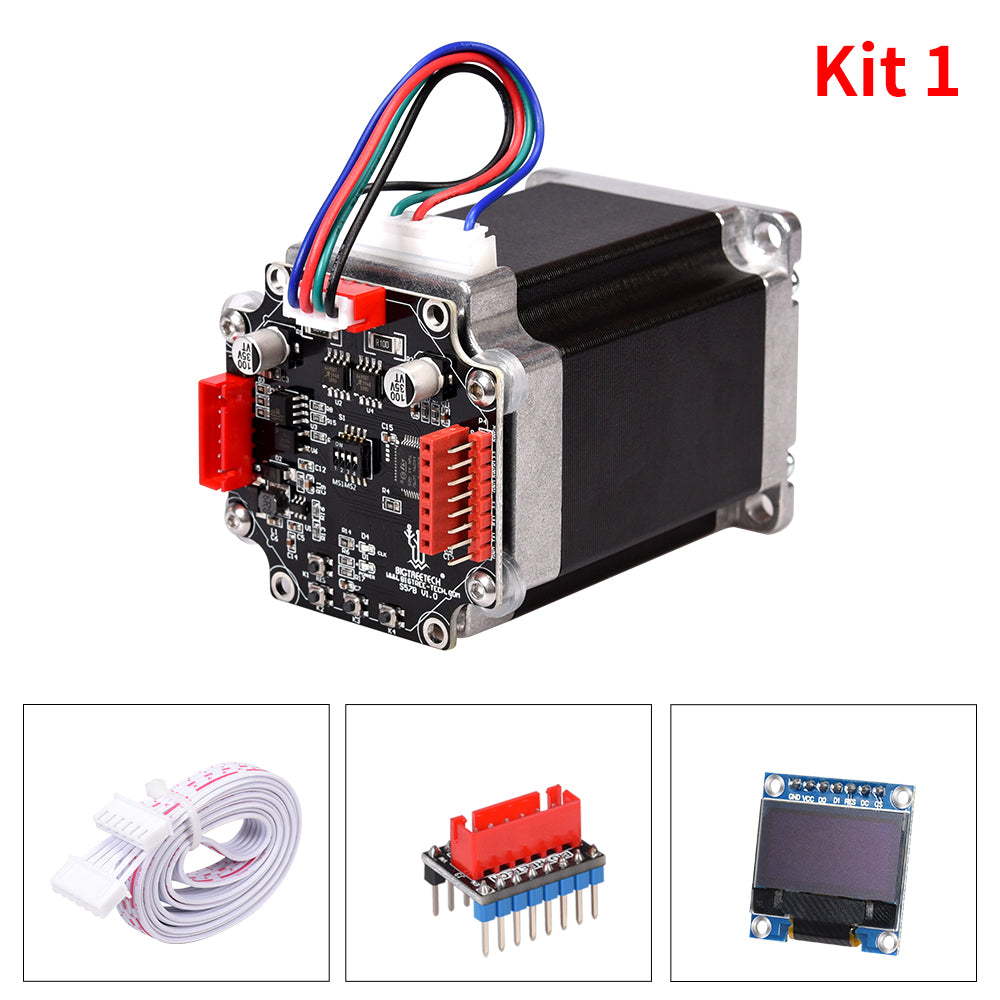 BIGTREETECH S57B V1.0 Closed Loop Driver Control Board 57 Stepper Motor OLED 3D Printer Parts