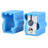 BIQU 3D printer accessories 3D Volcano aluminum Block/Silicone Stock for V6 Bowden&direct J-head hot end heat Block