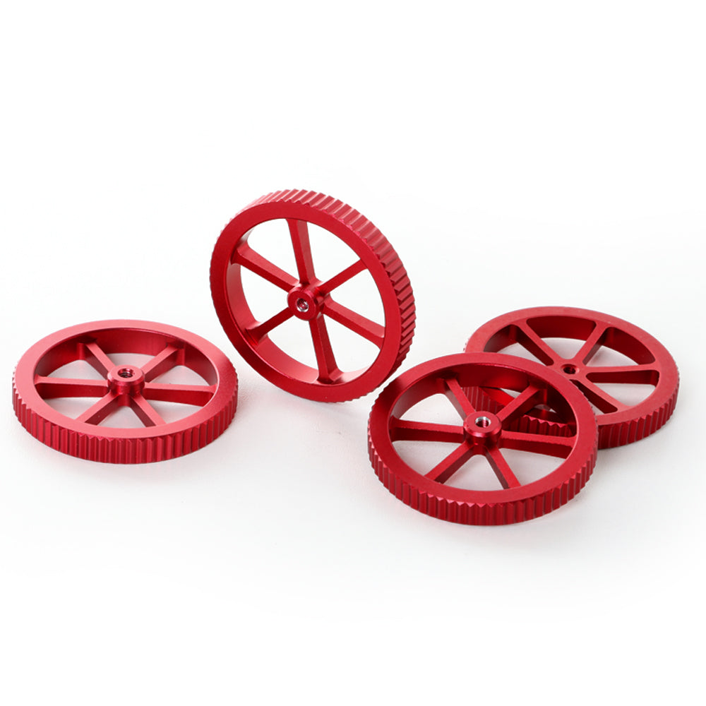 CREALITY 3D Printer Accessories 4Pcs/LotNew Large Red Hand Twist Leveling Nut For CREALITY 3D Printer