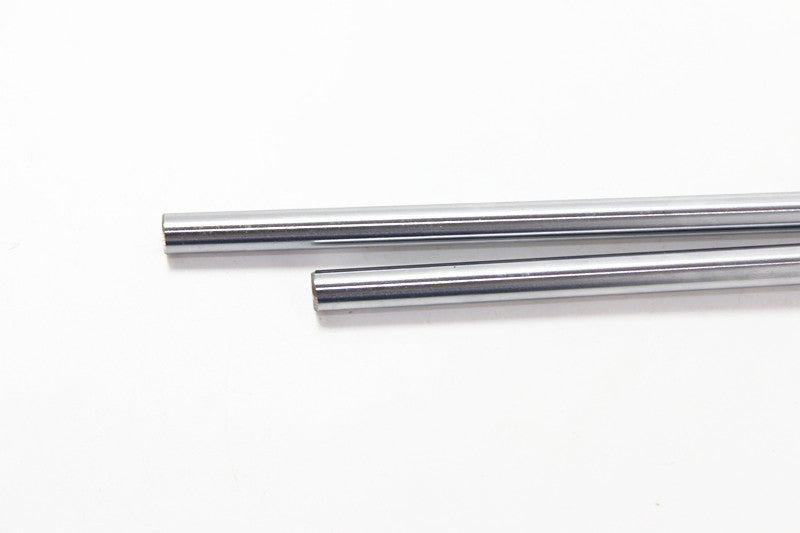 4PCS Width 8 mm length 300 mm linear axis, 300 mm cylindrical rod linear guide rail slide rail section motion optical axis CNC