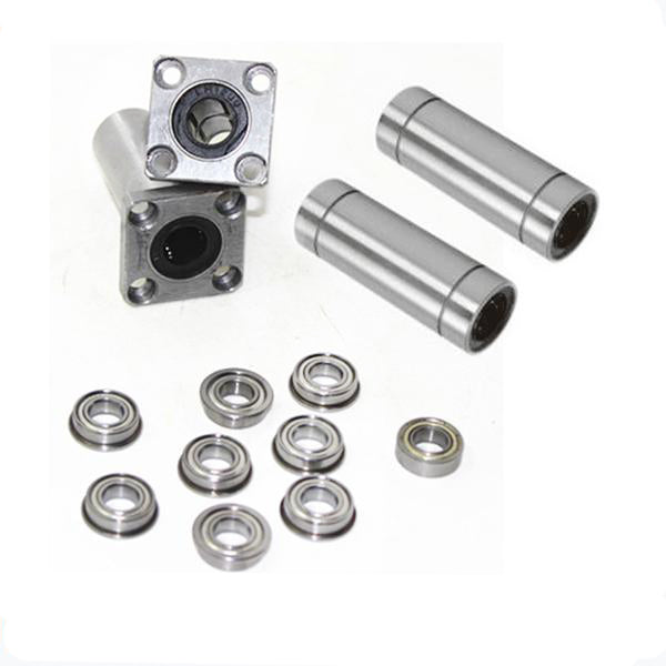Ultimaker 2 3D Printer Ball Bearings / Square Flanged Linear Bearings LMK12LUU+LM6LUU+688zz +F688 bearing for 3D printer part