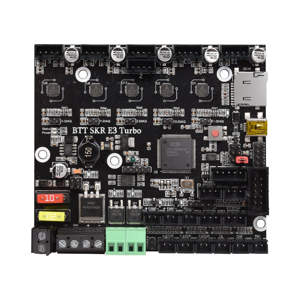 BIGTREETECH SKR E3 Turbo 32 Bit Control Board Integrated TMC2209 UART For Ender 3