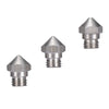 5pcs/Lot MK10 3D PRINTER New arrival 3d printer M7 stainless steel Nozzle 0.2/0.3/0.4/0.5/0.6/0.8mm for 1.75mm for 3D printer
