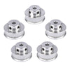 GT2 Timing Pulley 16/20 teeth Bore 5/8mm fit for GT2 belt Width 6mm for 3D printer part Ultimaker 2