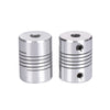 2/4PCS Flexible shaft Coupler 5*8mm 5*5mm CNC Stepper Motor Aluminum Alloy Flexible Coupling Black/Silver