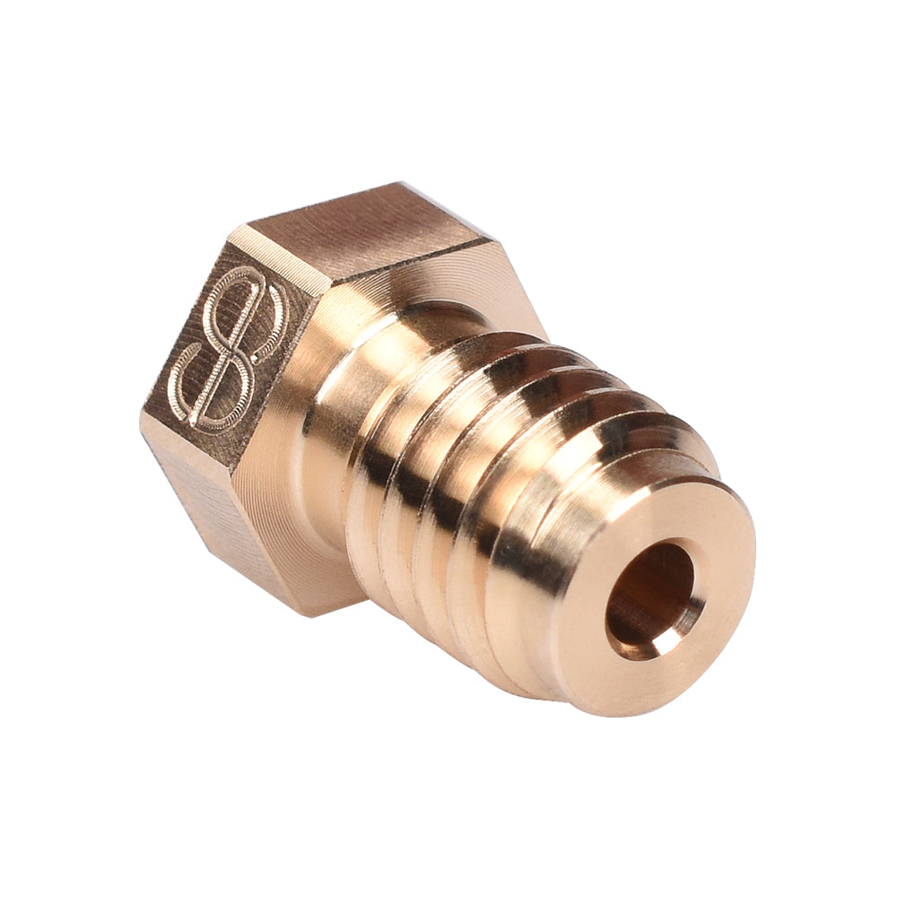 Phaetus V6 Brass Nozzle V6 Nozzle 1.75MM Filament 0.2/0.3/0.4/0.5/0.6/0.8mm For E3D V5 V6 Hotend Prusa i3 MK3 3D Printer Parts