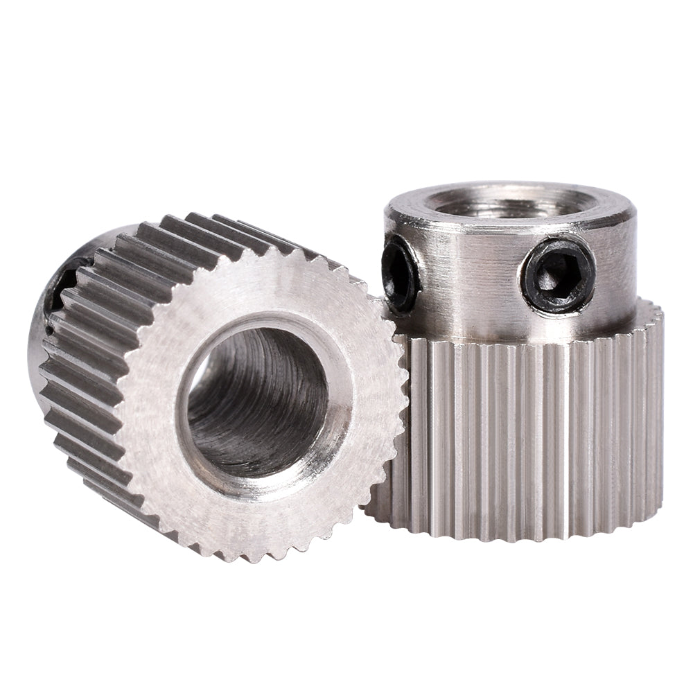 5pcs/Lot 3D Printer accessories 36 teeth MK7/MK 8 stainless steel planetary gear wheel extruder feed extrusion wheel