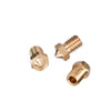 5Pcs 3D printer E3D V6&V5 J-Head brass nozzle extruder nozzles 0.2/0.3/0.4/0.5/0.6/0.8/1.0 mm For 1.75/3.0mm supplies - Biqu.Store