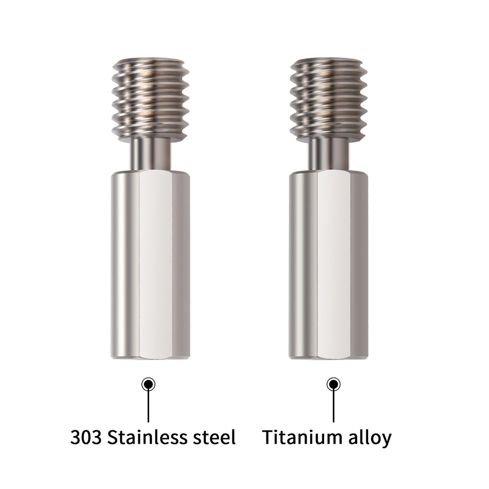 BIQU BX All-metal  Throat Stainless steel & Titanium alloy  Heat break 3D Printer Accessories  For BIQU H2 Extruder  3D Printer Parts