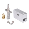 Latest Zortrax M200 Hot End kit for M200 3D printer Nozzle 0.4mm barrel tube for 1.75mm 3D printer part