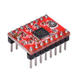 1pcs 3D Printer Kit A4988 Stepper Motor Driver Module with Heatsinks Reprap Board For 3D Printer Free Shipping! - Biqu.Store