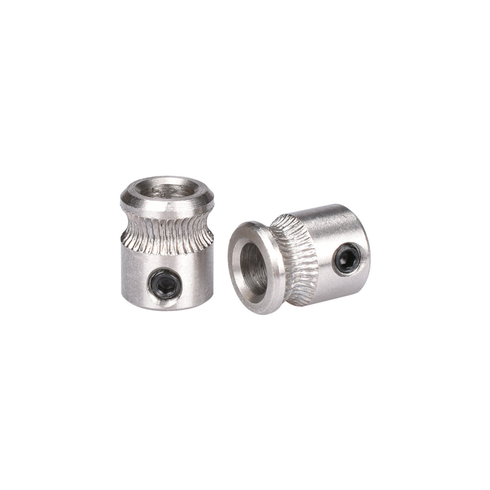 5pcs/Lot MK7/MK8 Extrusion Gear Stainless Steel 1.75MM or 3MM for Reprap Makerbot 3D Printer