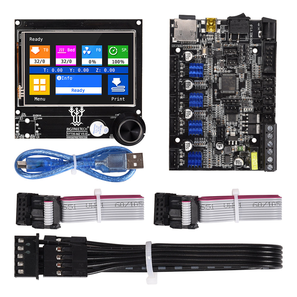 BIGTREETECH SKR MINI MZ V1.0+TFT35 MZ V3.0 Touch Screen Control Board TMC2209 3D Printer Parts For ANYCUBIC Mega Zero Upgrade