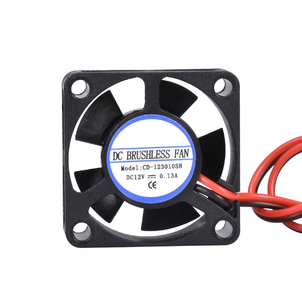 DC 5V 12V 24V 3010 Fan Cooling Brushless Mini Fan 30*30*10MM Cable 17CM 2Pin Radiator Black For 3D Printer Parts Reprap