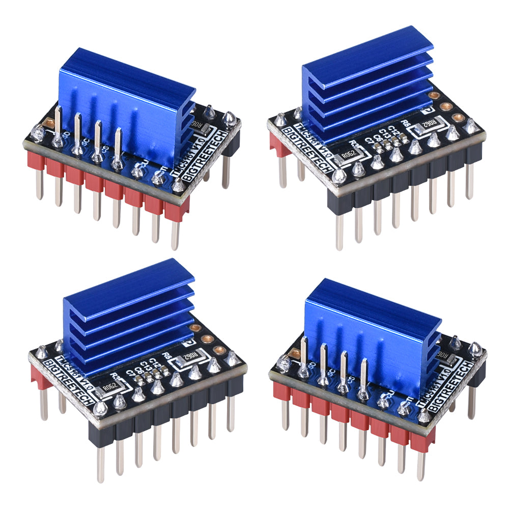 BIGTREETECH TMC5161 V1.0 SPI Stepper Motor Driver Integrated MOSFET 3D Printer Parts VS TMC2209 TMC2130 TMC5160 For SKR V1.3 PRO