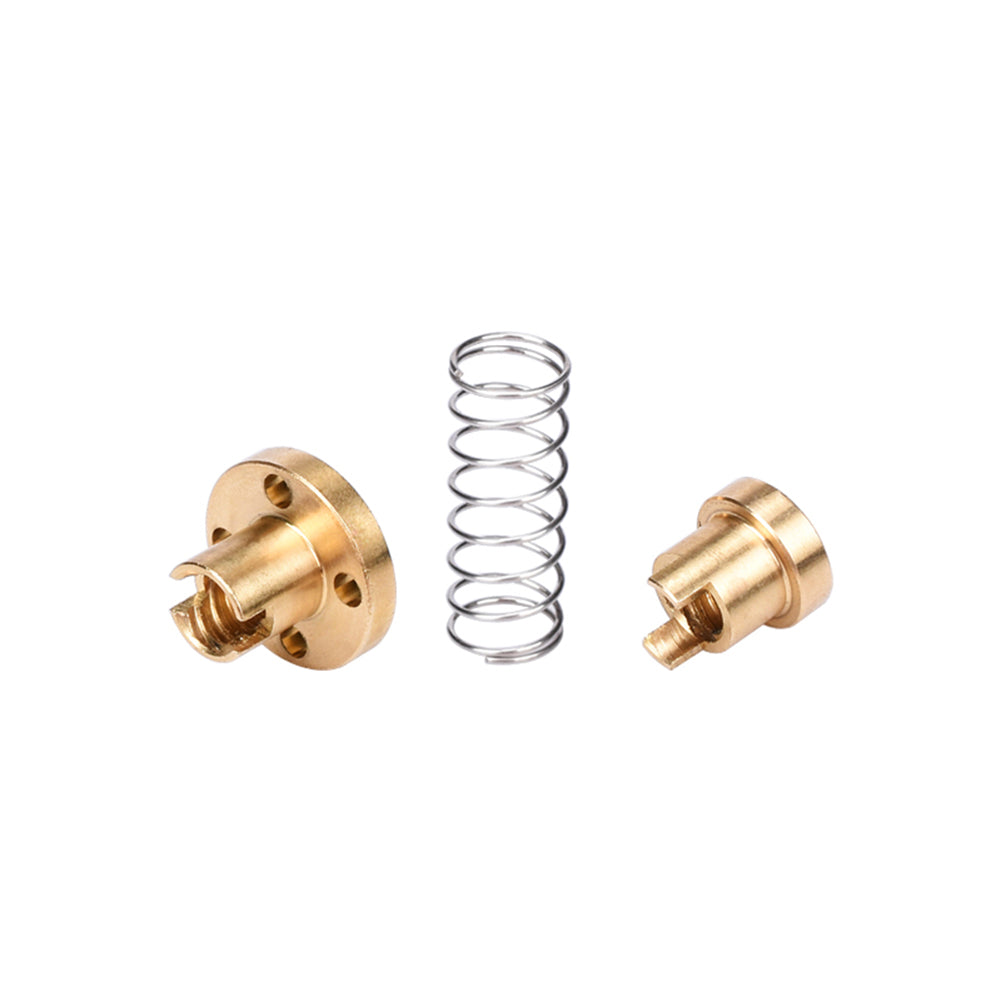 8mm Acme Threaded Rod Eliminate The Gap Spring DIY CNC Accessories 4mm 2-Pack 3D Printer T8 POM Anti Backlash Nuts for Lead 2mm Pitch 2mm Lead 2mm