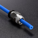 1M 2*4mm PTFE Tube Teflon PiPe to J-head hotend RepRap Rostock Bowden Extruder for 1.75/3.0mm For V5