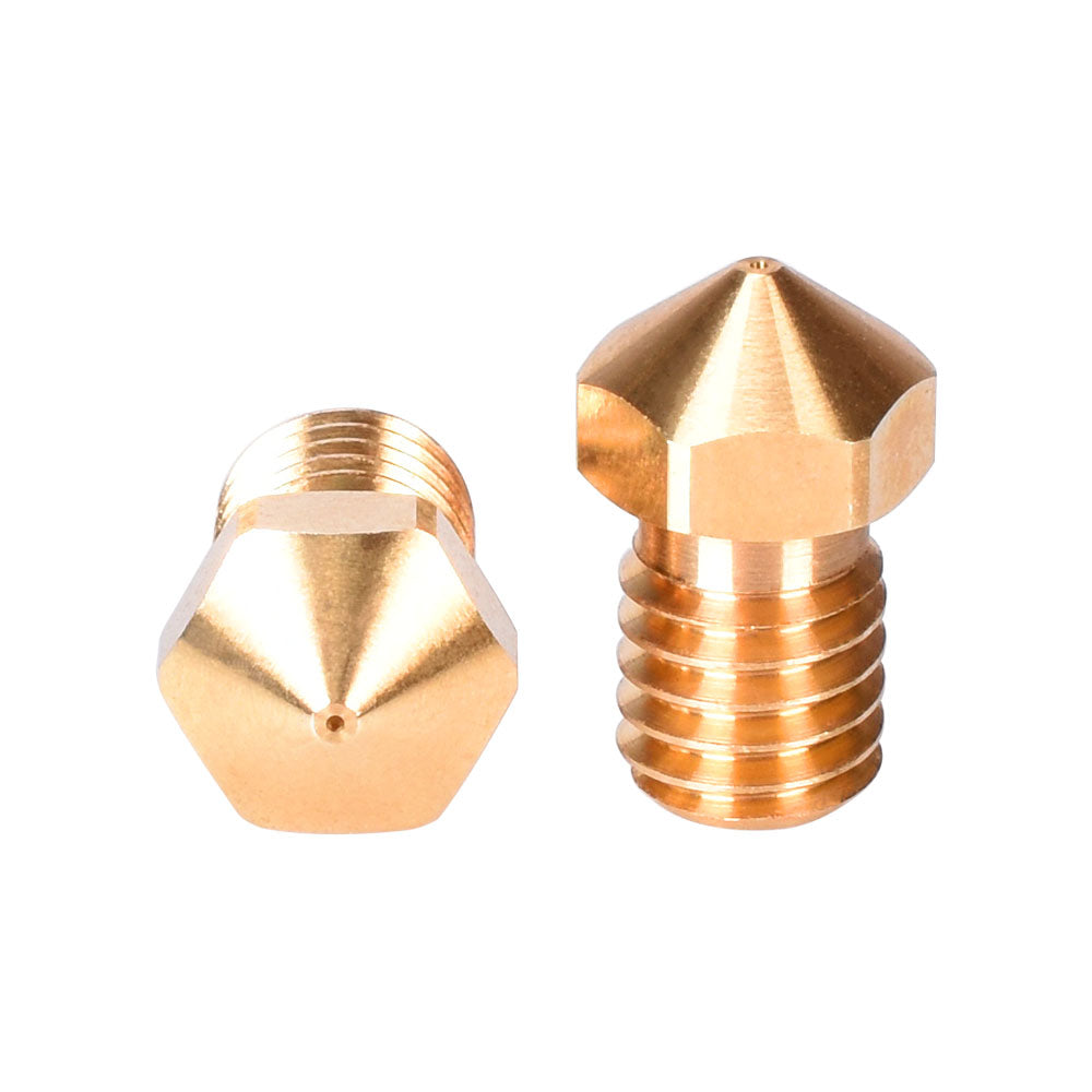 High Quality V6 Nozzle Brass Nozzle For 3D Printer Hotend 1.75/3.0MM Filament E3D V6 Nozzle 3D Printer Parts For Ender 3