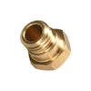 5pcs/Lot MK10 3D printer Reprap Makerbot 2 M7 Brass Nozzle 0.2/0.3/0.4/0.5/0.6/0.8mm For 1.75mm Filament Screw thread