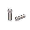 5pcs/Lot 3D Printer Volcano Extra Lengthen Stainless steel M6 Nozzle All Metal 0.4mm/0.6mm/0.8mm/1.0/1.2mm for 1.75mm/3.0mm