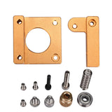 3D printer accessories MK8 extruder aluminum block DIY kit Makerbot dedicated single nozzle extrusion head aluminum block(1set)